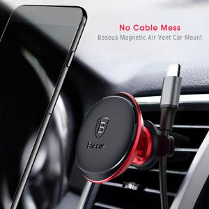 Baseus suporte magnético carro com clip